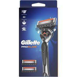 Gillette Gillette Rasoir pour homme + 3lames Proglide La boite avec un rasoir et 3 lames