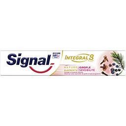 Signal Signal Integral 8 - Dentifrice Nature Eléments girofle sensibilité le tube de 75 ml