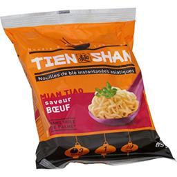 Tien Shan Tien Shan Nouilles asiatiques saveur bœuf doux le sachet de 85 g