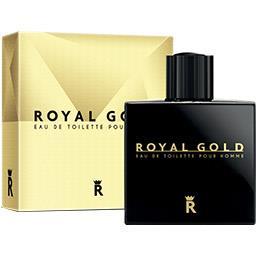 Gold Royal Eau de toilette Royal Gold pour homme Le flacon de 100ml