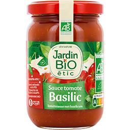 Jardin Bio Jardin bio étic - Sauce tomate basilic BIO le pot de 200 g