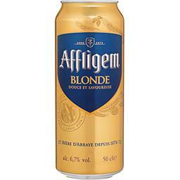 Affligem Affligem Bière blonde d'Abbaye la canette de 50cl