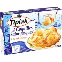 Tipiak Tipiak Coquilles Saint-Jacques à la Bretonne les 2 coquilles de 110 g