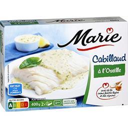 Marie Marie Cabillaud à l'oseille la boite de 400 g