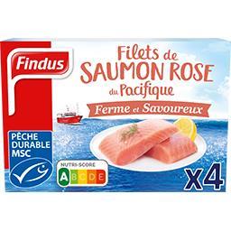 Findus Findus Filets de saumon rose du Pacifique la boite de 4 - 400 g
