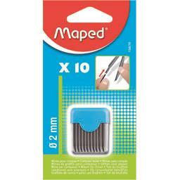 Maped Maped Mines pour compas diam 2 mm la boite de 10
