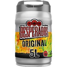 Desperados Desperados Original - Bière aromatisée Tequila le fût de 5l