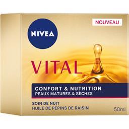 Nivea Nivea Vital - Soin de nuit Confort & Nutrition le pot de 50 ml