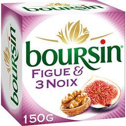 Boursin Boursin Fromage à tartiner figue & 3 noix la boite de 150 g