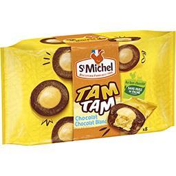 St Michel St Michel Gâteaux Tam Tam chocolat chocolat-blanc la boite de 8 - 220g