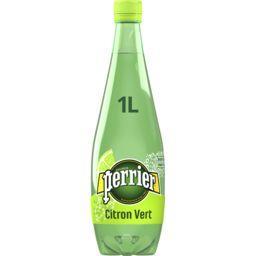 Perrier Perrier Eau gazeuse saveur citron vert sans sucres la bouteille de 1 l