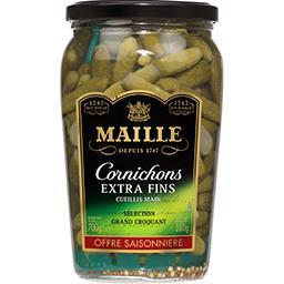 Maille Maille Cornichons extra-fins - offre saisonnière le bocal de 380g