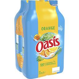 Oasis Oasis Boisson à l'eau de source duo d'oranges les 4 bouteilles de 2 l