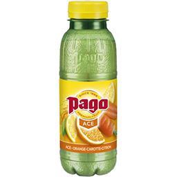 Pago Pago Jus orange carotte et citron la bouteille de 33cl