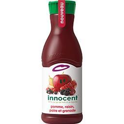 Innocent Innocent Pur jus de 8 fruits et légume pomme raisin poire & grenade la bouteille de 900 ml