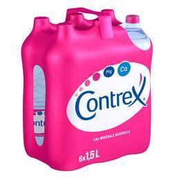 Contrex Contrex Eau minérale naturelle les 6 bouteilles de 1,5 l