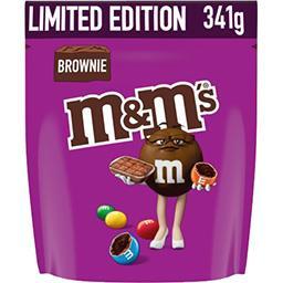 M&M's M&M's Bonbons chocolat brownie le paquet de 341 g