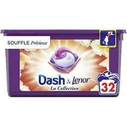 Dash Dash Lessive en capsules la collection souffle précieux La boîte de 32 lavages