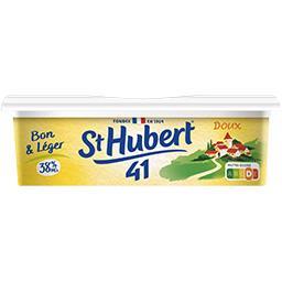 St Hubert St Hubert 41 Margarine doux Bon & Léger 38% MG la barquette de 250 g