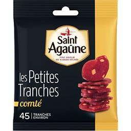 Saint Agaûne Saint agaûne Spécialité de viande Les Petites Tranches Comté le sachet de 70 g
