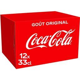 Coca Cola Coca-Cola Soda le pack de 12 x 33cl - 3.9l