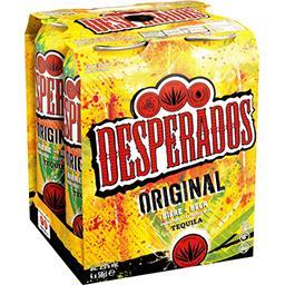 Desperados Desperados Original - Bière aromatisée Tequila les 4 canettes de 50cl