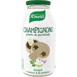 Knorr Knorr Soupe champignons & pointe de persillade la bouteille de 450ml