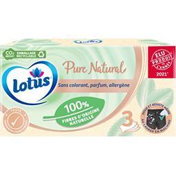 Lotus Lotus Mouchoirs Pure la boite de 80 mouchoirs