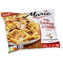 Marie Marie Petite escalopes de volaille et Penne le sachet de 900 g