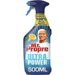 Mr. Propre Mr Propre Ultra power, nettoyant multi-usages citron Le spray de 500ml