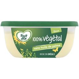 Fruit d'Or Fruit d'Or Margarine végétale doux la barquette de 400g