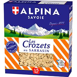 Alpina Savoie Alpina Savoie Les Crozets au sarrasin la boite de 400 g