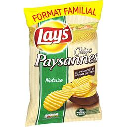 Lay's Lay's Chips paysannes nature le sachet de 300 g