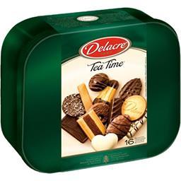 Delacre Delacre Tea Time - Assortiment de biscuits la boite de 1 kg