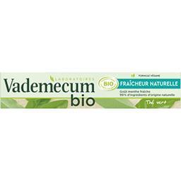 Vademecum Vademecum BIO - Dentifrice Fraîcheur Naturelle goût menthe fraîche le tube de 75 ml