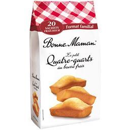 Bonne Maman Bonne Maman Quatre-quarts - au beurre frais le sachet de 600g