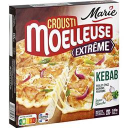 Marie Marie Crousti Moelleuses - Pizza Extrême poulet épicé kebab sauce blanche la boite de 530 g