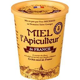 MIEL l'Apiculteur Miel l'Apiculteur Miel de France le pot de 500 g