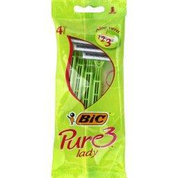 Bic Bic Rasoirs Pure 3 Lady le paquet de 4