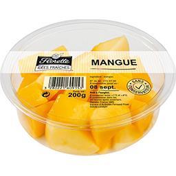 Florette Florette Idées fraîches - mangue en morceaux La barquette de 200g