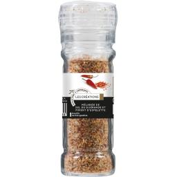 Mélange de sel de Guérande et piment d'Espelette