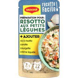 Recette facile risotto légumes