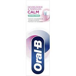 Oral B Oral B Dentifrice sensibilité & gencives calm extra fraîcheur Le tube de 75 ml