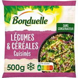 Bonduelle Bonduelle Légumes & céréales cuisinés chou kale pois perles couscous le sachet de 500 g