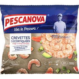 Pescanova Pescanova Crevettes décortiquées croquantes le sachet de 300 g