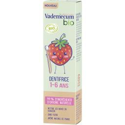 Vademecum Vademecum Dentifrice 1 à 6 ans, fraise BIO le tube de 50 ml