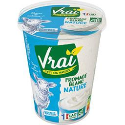 Vrai  Vrai Fromage blanc au lait de brebis BIO le pot de 400 g