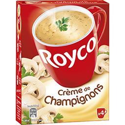 Royco Royco Crème de champignons les 4 sachets de 16 g