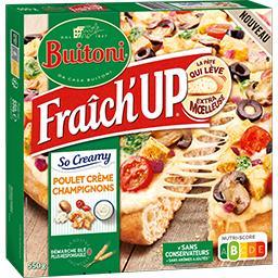 Buitoni Buitoni Fraîch'Up - Pizza So Creamy poulet crème champignons la boite de 550 g