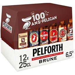 Pelforth Pelforth Bière brune les 12 bouteilles de 25cl